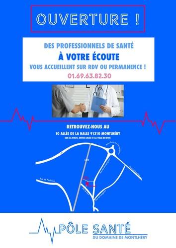 Pole santé Montlhéry 91