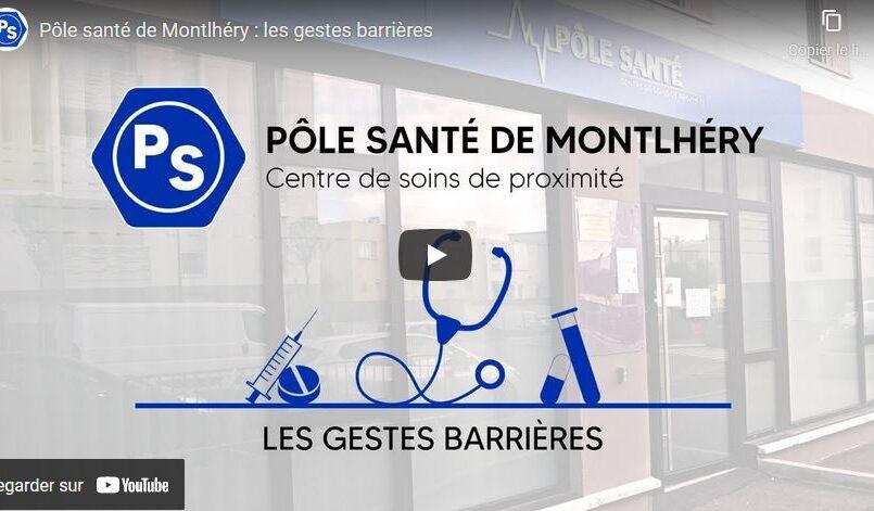 Les gestes barrières Covid 19 Montlhéry
